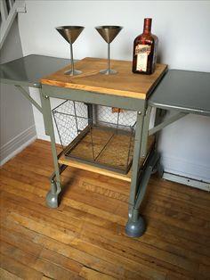 Typewriter Table Repurposed