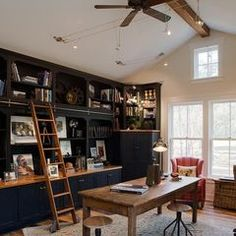 traditional home office by wayne windham architect pa build home office header
