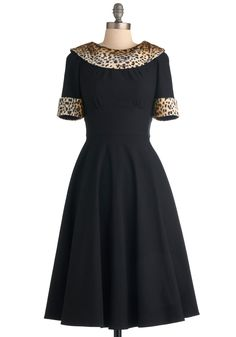 Stop Staring! Purr Se Dress   Mod Retro Vintage Dresses   ModCloth.com