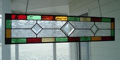 Items similar to Stained Glass Window Panel Multi Color Transom with Bevels on Etsy Window Panels, Glass Panels, Glass Texture, Black Opal, Stained Glass Windows, Sparkle, Construction, Shades, Craft Ideas