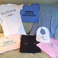 Flaunt your support for preemies! http://beemighty.org/bee-mighty-tees/