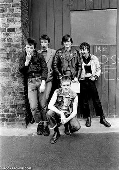 Syd Shelton portrait photograph of the Undertones, taken in Chester in Buy limited edition fine art photos, prints & images Music Hits, New Music, Irish Punk, Michael Bradley, The Undertones, Rock News, Music Pictures, Social Club, Fine Art Photo