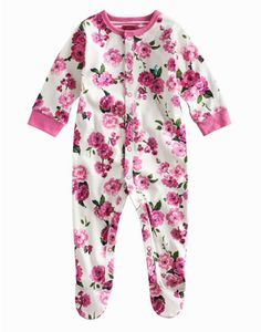 Joules null Baby Girls Baby Grow, Blossom Pink.                     This all-in-one babygrow is crafted from the finest cotton and adorned with a delightful hand-drawn print. For warmth and comfort throughout the autumn and winter months this is a great option. Finished with a smattering of poppers for easy-on and easy-off.  #joules #christmas #wishlist