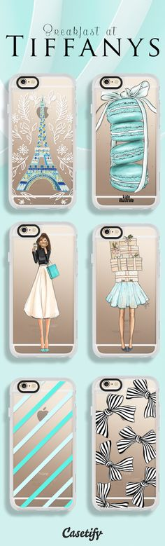 Phone Cases in Tiffany Blue
