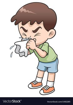 Illustration about Illustration of sick boy cartoon. Illustration of disease, baby, malady - 29081156 Cartoon Cartoon, Sick Boy, Flu Symptoms, Action Words, Runny Nose, Swim Lessons, Speech And Language, Kids Education, Baby Fever