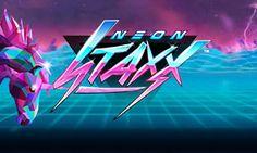 Neon Staxx from NetEnt @FiettCasino - https://www.fiett.com/slots/neon-staxx/
