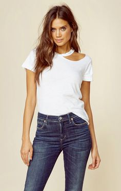 Lna Clothing New Bohemian Clothes Extreme Desert Tee Clothes Crafts, Cheap Clothes, Clothes For Women, Cheap Outfits, Ladies Outfits, Diy Cut Shirts, T Shirt Diy, Cutting Tee Shirts, Diy Fashion