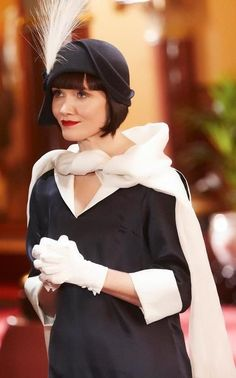 Costume design for Miss Fisher's Murder Mysteries is done by Aussie designer Marion Boyce - will have to remember this outfit idea for Disney Dapper Day - fabulous vintage style! modest tznius dressing