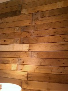 Thinking of using pallets to line the interior walls of my garden shed