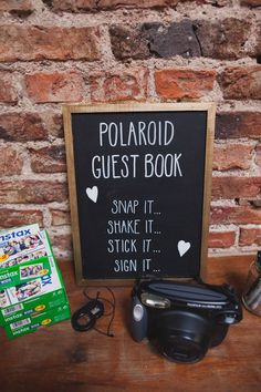 Polaroid Guest Book Photos Instax Indie Rustic DIY Fun Wedding Party http://www.sallytphotography.com/ ähnliche tolle Projekte und Ideen wie im Bild vorgestellt findest du auch in unserem Magazin . Wir freuen uns auf deinen Besuch. Liebe Grüße