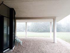 Villa Savoye - Poissy - Le Corbusier | Graphisme - Art - Archi ...