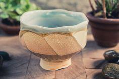 Faceted Earthenware Tea Bowl - elegant but understated, bringing just a bit more…
