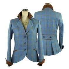 'Isla Tweed Jacket in Foxglove