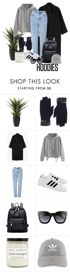 """Hoodie Weather"" by cheyenneshianne ❤ liked on Polyvore featuring Monki, WithChic, Miss Selfridge, adidas, Gucci, Craft + Foster and Hoodies"