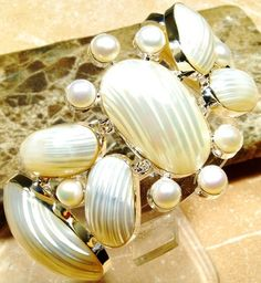 Pearls and 925  silver