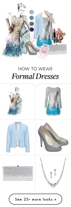 """""""Formal"""" by mrs-thornton19 on Polyvore featuring Matthew Williamson, House of Fraser, Jimmy Choo, Zizzi, BillyTheTree, Terre Mère, MAC Cosmetics and Victoria's Secret"""