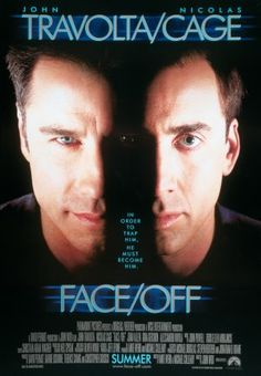 FaceOff. i don't usually watch Action movies but I can never get enough of this one. great plot, fantastic performance.