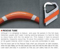 Rescue Tube by Baek Mi Young