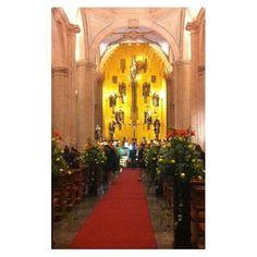 Interior de la Catedral Zacatecas