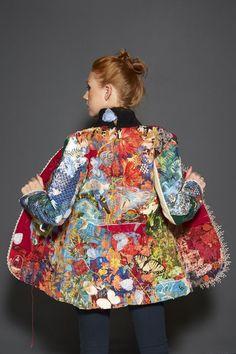 Fashion art textiles fabric manipulation 44 Ideas for 2019 Fashion Art, Look Fashion, Trendy Fashion, Fashion Outfits, Womens Fashion, Fashion Details, Daily Fashion, Fashion Ideas, Fashion Design Inspiration