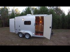 Image result for enclosed cargo trailer camper conversion 7x14