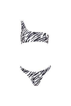LINDA top - zebra – B Ā M B A S W I M