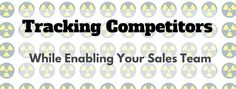 How are you tracking your competitors in Salesforce? Are you? If you aren't, you need to. Not you should, you must. If you already are tracking competitors by opportunity, is it working for you? Ar...