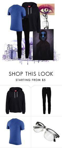 """""""Going into the human world : eyeless jack"""" by scarlet-snow2603 ❤ liked on Polyvore featuring Topman, men's fashion and menswear"""