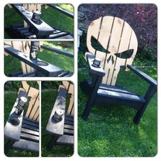 Adirondack muskoka chairs punisher marvel