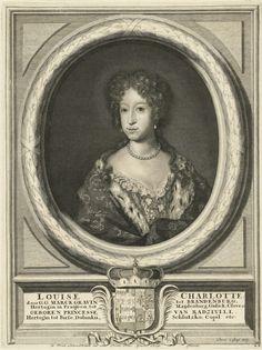 Louise Charlotte Radziwill by Pieter van Gunst, 1680s (PD-art/old), Rijksmuseum Amsterdam