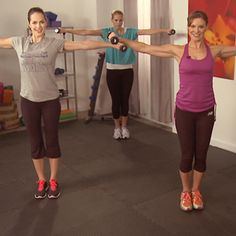 Total-Body, 10-Minute Workout Video With Holly Perkins | http://www.fitsugar.com/10-Minute-Full-Body-Workout-22538218
