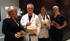 Kelly, Dr. Landry, Danielle, & Shandley