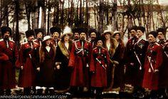 Romanovs Cossacks by hmhsbritannic.deviantart.com on @deviantART
