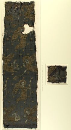 Textile with Brocade Date: late 14th century Culture: Italian Medium: Silk, gold thread Accession Number: 15.126.1a, b