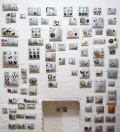 porcelain wall pillows, delish.