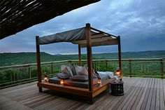 Sunset on the Day Bed at Nambiti Hills