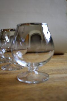 Vintage brandy glasses!