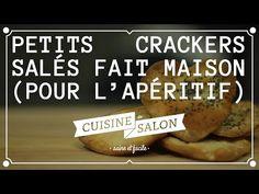À deux doigts - Crackers salés maison | Cuisine de Salon