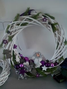 Grapevine Wreath, Grape Vines, Hanukkah, Floral Wreath, Wreaths, Christmas, Home Decor, Xmas, Floral Crown