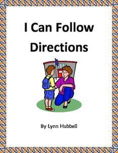 """""""I Can Follow Directions"""" is a behavior story which breaks down and explains basic compliance skills to children. It includes an anchor chart and multiple worksheets for reviewing and reinforcing the concept. 4.00"""