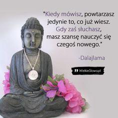 Kiedy mówisz, powtarzasz jedynie to… Sad Quotes, Inspirational Quotes, Tomorrow Will Be Better, Self Development, Self Improvement, Words, Lifestyle, Magick, Quotes