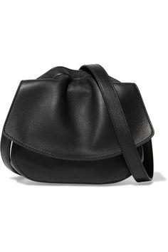 JIL SANDER Ridge micro leather shoulder bag