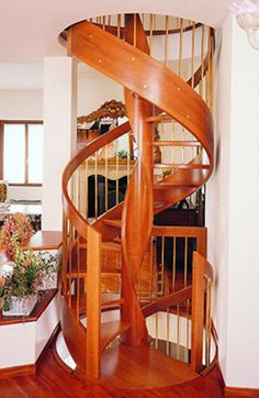 Wooden Spiral Staircase _ My Dream Stairs.