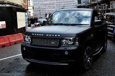 Matt Black Range Rover