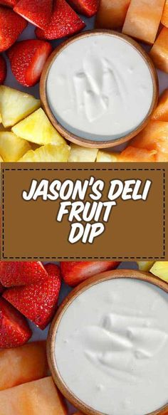 This creamy liqueur fruit dipping sauce is sure to be a party favorite! It's a tasty fruit dip with brown sugar and Grand Marnier. Super easy with only 3 ingredients. Save this Jasons Deli copycat recipe to make a delicious appetizer or dessert. Homemade Desserts, Healthy Dessert Recipes, Easy Desserts, Cake Recipes, Healthy Fruit Dips, Easy Fruit Dip, Fruit Food, Eat Fruit, Baking Recipes