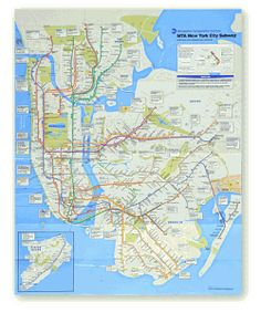 2010 mta new york city subway map compared to historical versions