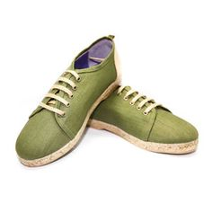Banus Espadrille Men's Olive now featured on Fab.