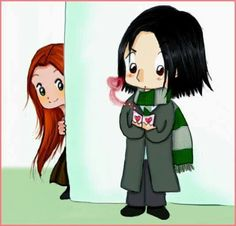 Lily and Snape 😊