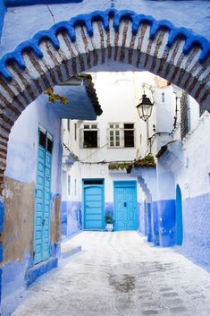 Basking In Blue in Chefchaouen, Morocco - Reflections Enroute Places To Travel, Travel Destinations, Places To Visit, The Beautiful Country, Beautiful Places, Visit Morocco, Blue City, Africa Travel, Travel Photos