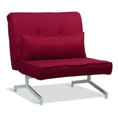 Slaapstoel Cardini Uno rood I